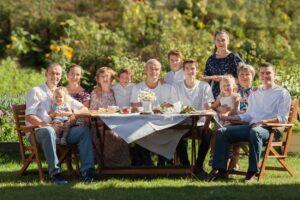 Budget for Big Family