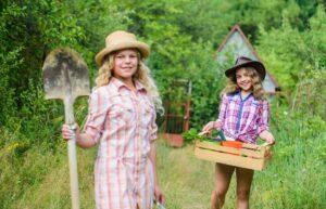 Raising a Family in a Farm